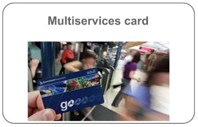Multiservices card