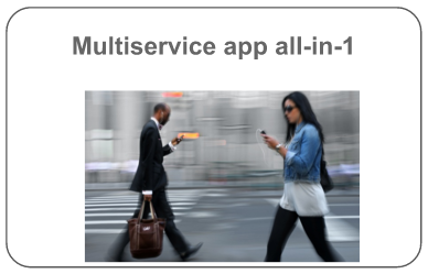 Multiservice app all-in-1